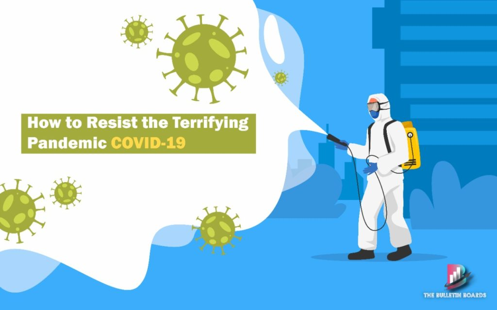 coronavirus pandemic covid-19, the bulletin boards